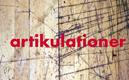 Trä med skärmärken och ordet artikulationer