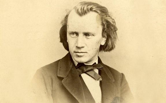 Tonsättaren Johannes Brahms