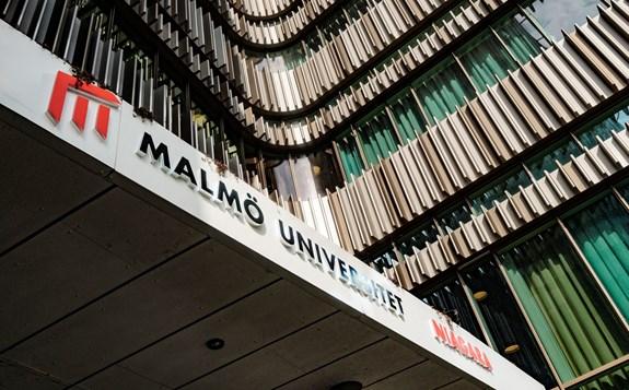 Malmö universitet byggnad...