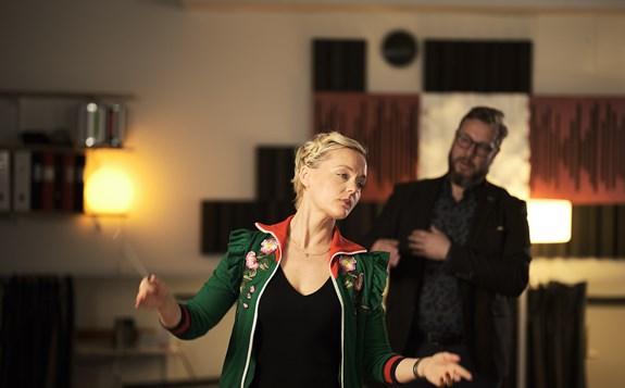Skådespelaren Mari Götesdotte...
